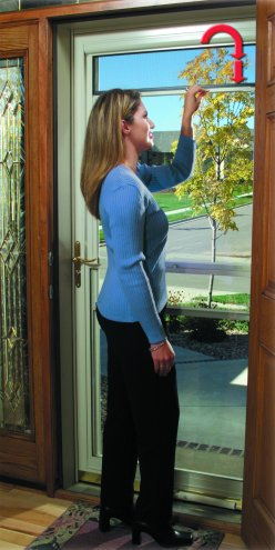 Larson Storm Doors Suburban Construction Ultrabreeze