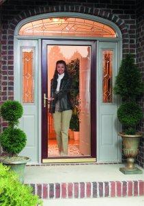 larson storm doors suburban construction lifestyle