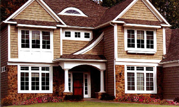 Varriegated Vinyl Siding Colors By Assocated Materials Inc