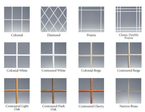 Internal Decorative Grids
